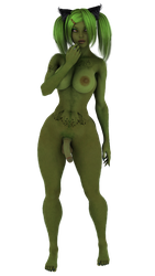 STOCK: Hypothetically Authentic Grinch, Futa by ambient-avalancher