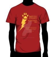 2013 Homecoming Tshirt front by SerafinaMoon