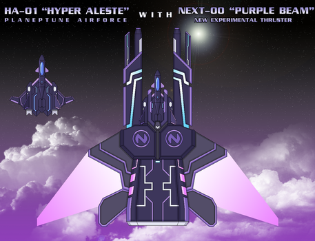 NEXT-00 ''Purple Beam'' by SturmvogelPrime