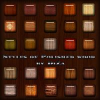 Styles of Polished wood by DiZa-74