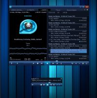 QQPlayer Blue AIMP2 and AIMP3 by shvenkd
