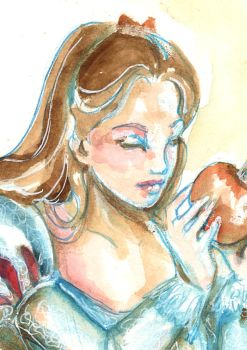 Snow white - detail by Isis-M