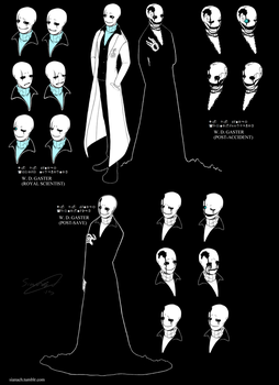 W. D. Gaster by Issane