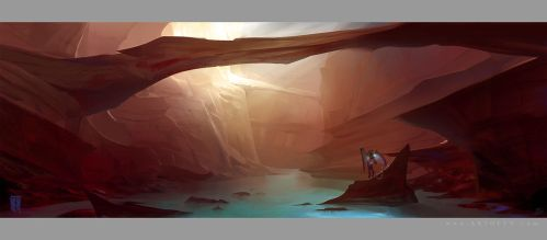 The Canyon Trench by ArtofTy