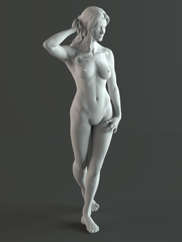 Sculptris Life Study by GhostAegis