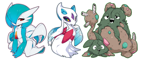 Pokemon Charms by Slugbox