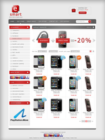 E-SHOP for sale psd+ by cm96