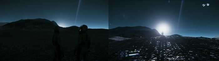 Star Citizen - Sunrise on Yela - Bathed in Dawn by AlmanacPony