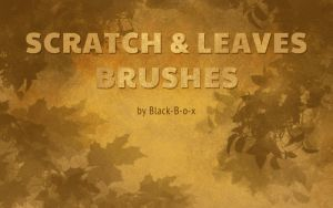 Scratch and Leaves brushes by Black-B-o-x