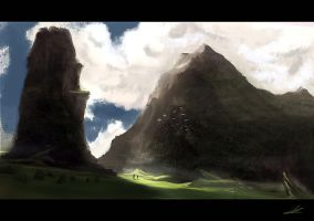 Peaceful Journey Speedpaint by SoldatNordsken