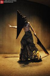 Pyramid Head cosplay 2009 by Doom-In-A-SKORT