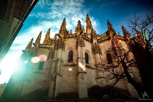 Segovia Cathedral #1 by VitoDesArts