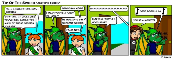 Auker's Hobby by tipofthesword
