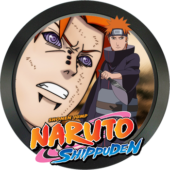Naruto (pain) folder icon by watercan52