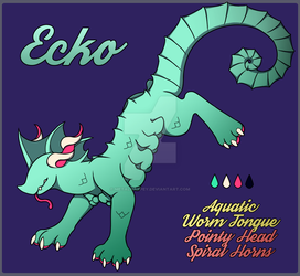 Ecko the Maamon by MetalHarpey