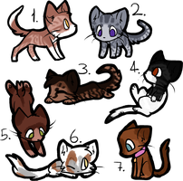 CLOSED Half-off Adopts! by LillyofIndominus
