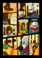 Under-Upper AU: Ch6 Page 4 by MichPajamaArtist
