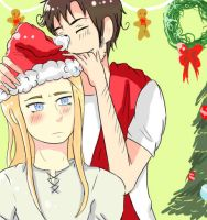 APH: X-mas by sonic-crazylove