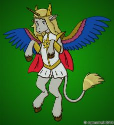 She-Ra alicorn TF by cqmorrell