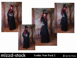 Gothic Noir Pack 2 by mizzd-stock