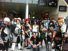 DAII Group with Adam Howden by D2SCosplay