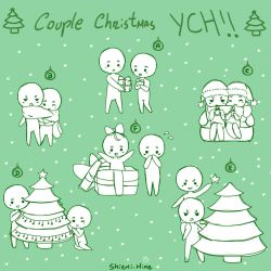 Couple Christmas YCH!!! [OPEN] by Shiemi-Hime