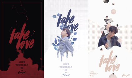 FAKE LOVE lockscreens by linhlin