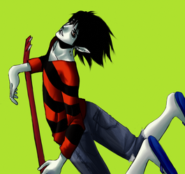 Marshall Lee. by mayday-daywalker