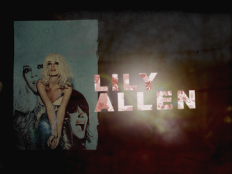Lily Allen - Wallpaper by nathan7321