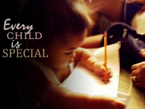 every child is special . . . by khoiievasquez