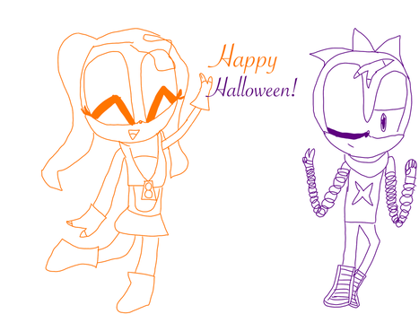 Happy Halloween! by RoseCoral2017