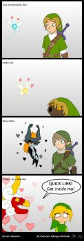 They ALL love Link. by Demmmmy