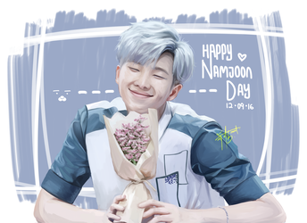 Namjoon's Day | 2016 by unextii
