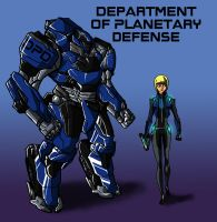 D.P.D-Department of Planetary Defense by IHComicsHQ