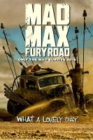 Mad Max Fury Road poster by DComp