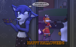 Halloween Background 2017 by W0lfmare