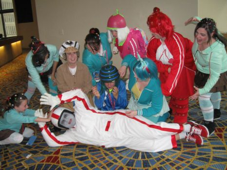 The tables have turned, Turbo! - DragonCon 2013 by MaryRyanBogard