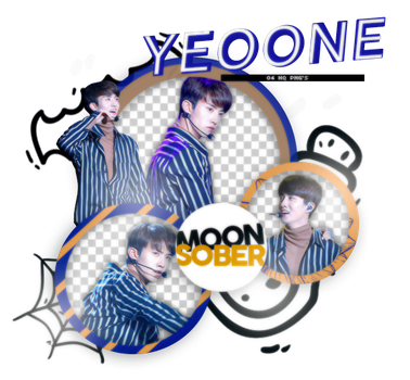 YEOONE//PENTAGON-PNGPACK#2 by MoonSober