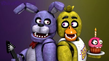 Bonnie and Chica by ChicaChickson