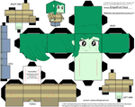 Wallflower Blush Cubeecraft by GrapefruitFace1