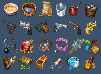 Icons for game by Kifir