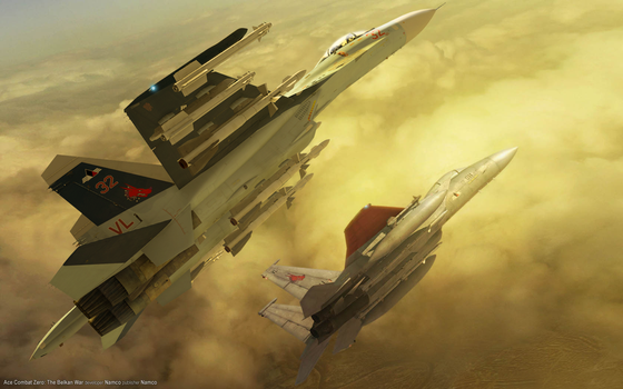 Ace Combat Zero Broken Mirror wallpaper 2 by ACZCipher