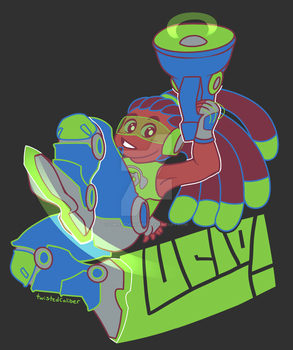 Lucio - Overwatch Palette Challenge! by twistedCaliber