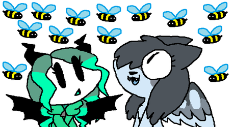 bees by stilbie