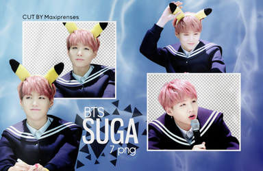 SUGA (BTS) PNG PACK #2 BY Maxiprenses by Maxiprenses