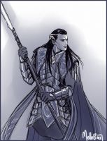 Gil-Galad by MellorianJ