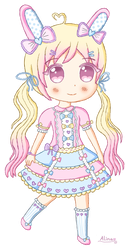 .: Pastel Bunny adopt #4 [Closed] :. by Angelinia