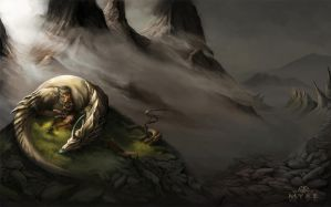 Yria's Lament by AlectorFencer