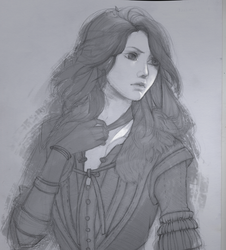The Witcher Yennefer by KuroRime