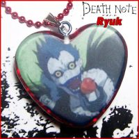 Death Note Ryuk Necklace by bapity88